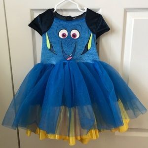 Toddler Finding Dory Disney Costume, Small/2T